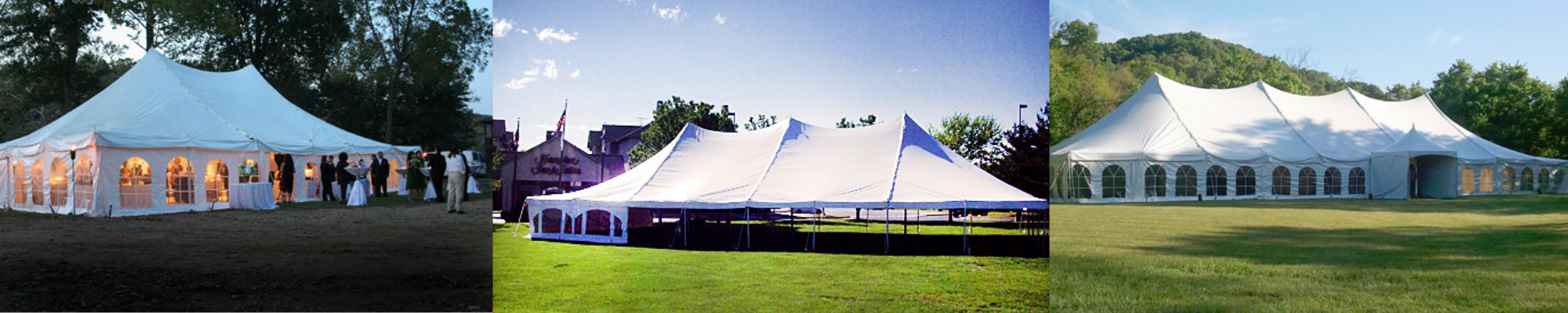 white event tent for special occasions
